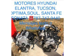 Gran variedad de motores Hyundai, Puerto Rico