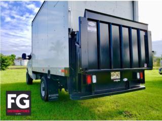 Rampa hidráulica para camiones TOMMY GATE, Puerto Rico