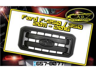 PARRILLA Ford F-250 / F-350 2011 - 2016 (Blk), Puerto Rico