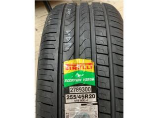 Pirelli Scorpio Verde 255/45R20, Puerto Rico