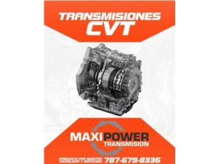 Transmisiones/Transmissions - TRASMISIONES AUTOMATICAS Y CVT 36 MESES  GARANTIA Puerto Rico