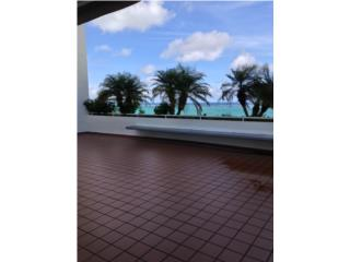 Terraza enorme frente al oceano Playa Blanca