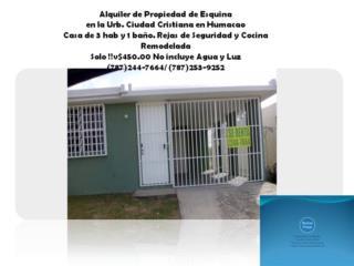 Urbanización  Ciudad Cristiana en Humacao