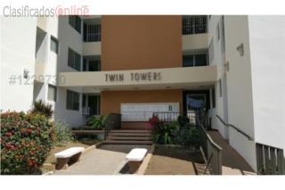 COND. TWIN TOWERS-EQUIPADO Y AMUEBLADO-$799