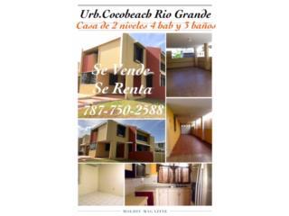 Urb. Cocobeach casa de 4 hab/3b