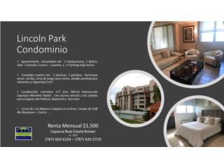 Lincoln Park  No Escaleras 3H 2B 2 Pkg Poo, Seg 24