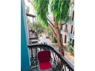 Old San Juan 2/2 furnished balcony a view