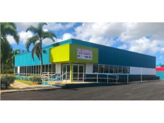 Edificio comercial alquiler. Ponce Ave Tito Castro