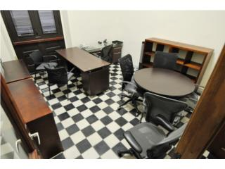 3 office spaces with or w/o furniture