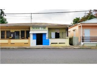 Mayaguez Pueblo-Residencia y negocio en 1!