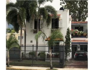 Spanish Revival House in Condado