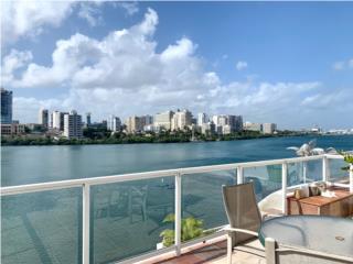 Condado: Terrace with Stunning Lagoon Views
