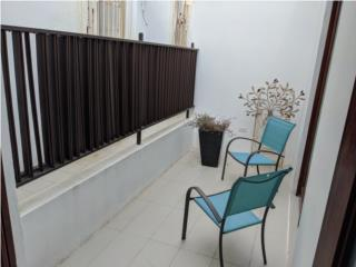 1 bedroom w/terrace Furnished