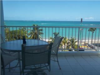BEACH FRONT 2 BEDROOMS, 1 BATH, ONE PARKING