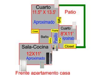 Apartamento Primer Nivel y Patio