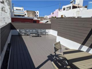 Furnished 2 bedroom with terrace