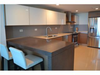 Moderno y cómodo apartamento semi-amueblado