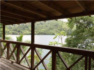 Frente al lago, Hermosa vista, 2 cds, cabana