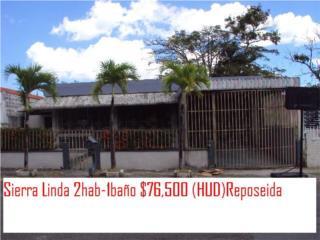 Sierra Linda 2hab-1baño $76,500