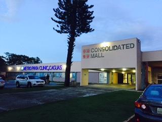 Caguas Consolidate Mall Ofic 1,680p2 $179k