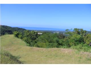 Flat lots with panoramic view
