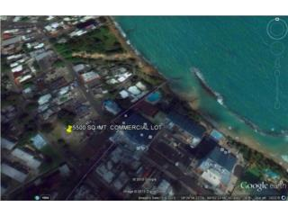 COMMERCIAL  LOT 5,500 SQ.MTS. STEPS BEACH