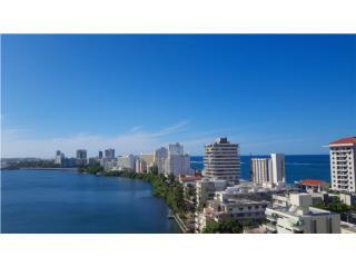 Stunning Lagoon and Ocean View!  Condado