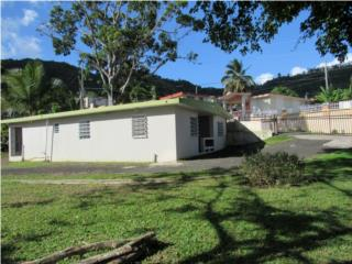 Casa, 3 cuartos, 1 bano, solar de1000 mts.