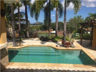 Palmar de Torrimar piscina patio con vista