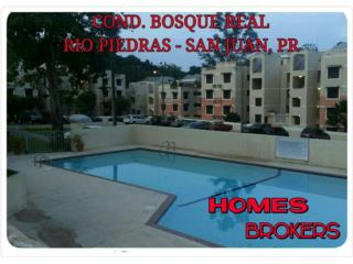 COND. BOSQUE REAL, 2H, 2B, 2P, $115K