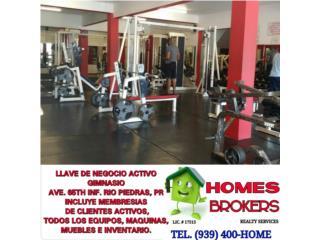 LLAVE DE GIMNASIO, AVE. DOMENECH HR, $125K OMO