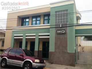 Edificio comercial, 2 plantas, Coamo