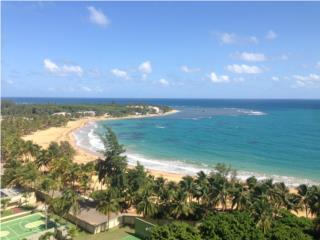 Playa Azul III-Studio vista al Yunque y mar.