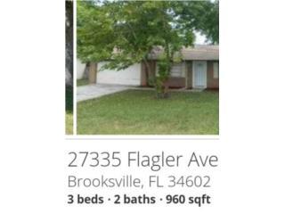 Casa a la venta en Brooksville Florida, $110K