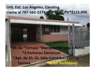 Ext. Los Angeles *3h-1b y 1h-1b X Solo $115K