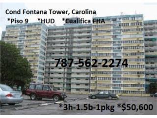 Villa Fontana Tower *FHA $100 Pronto y BONO