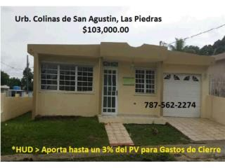 Colinas San Agustin *$100 Pronto *3% Gastos Cierre