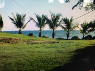 Beach front lot in Guanica