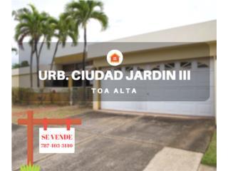 CIUDAD JARDIN III - TOA ALTA - LIQUIDACION