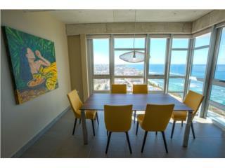 22nd floor, impressive view! furnished!