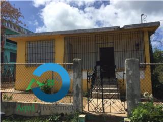 Casa de 3h-1b, en Vieques, amplio patio