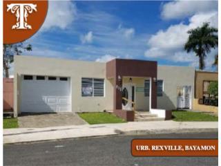URB. REXVILLE -BAYAMON- GANGA - HUD/FHA 100%!