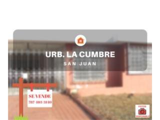 URB. LAS CUMBRE - SAN JUAN - NEW/LIQUIDACION
