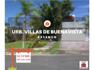 VILLAS DE BUENAVISTA - BAYAMON - LIQUIDACION