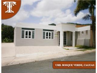 URB. BOSQUE VERDE -CAGUAS- FHA 100% REPO/HUD