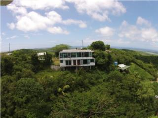 Modern house, yours to finish, in Vieques