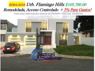 Urb. Flamingo Hills REBAJADA + 3% Para Gastos!!