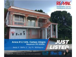 Casa Multi-Familiar Campo Alegre Bayamón