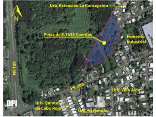 7.93 Acres in Sector Miradero in Cabo Rojo