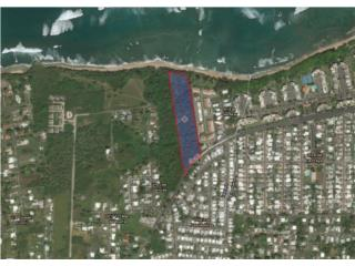 Vacant Oceanfront Lot Vega Baja - FOR SALE